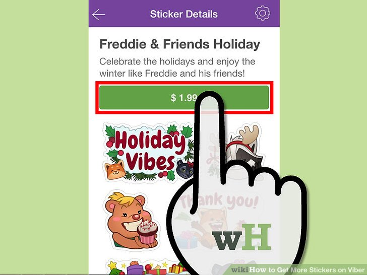 More Stickers Viber
