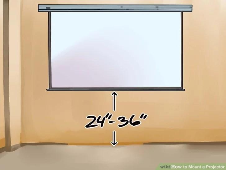 Изображение с названием Выбор места для экрана шаг 2