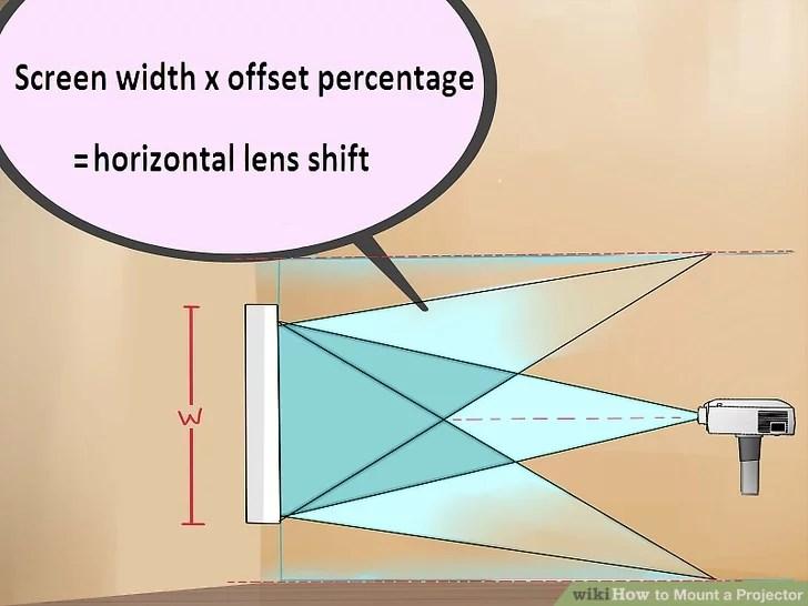 Изображение с названием Как установить проектор