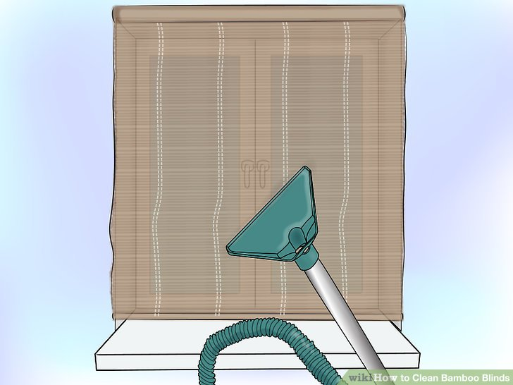 How To Clean Bamboo Blinds 13 Steps With Pictures WikiHow