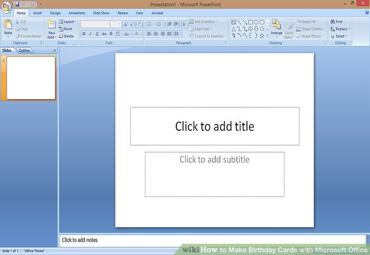 Image Led Make Birthday Cards With Microsoft Office Step 2