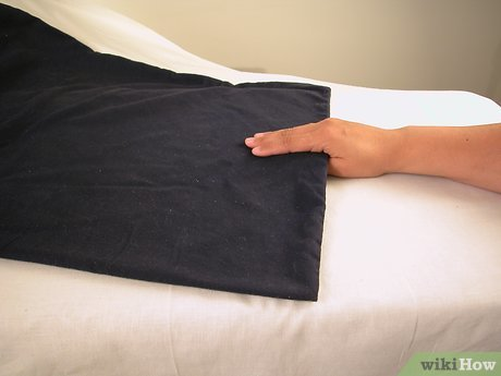 how to put a pillowcase on a pillow 4