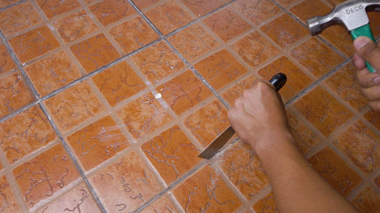 how to regrout tile 13 steps with