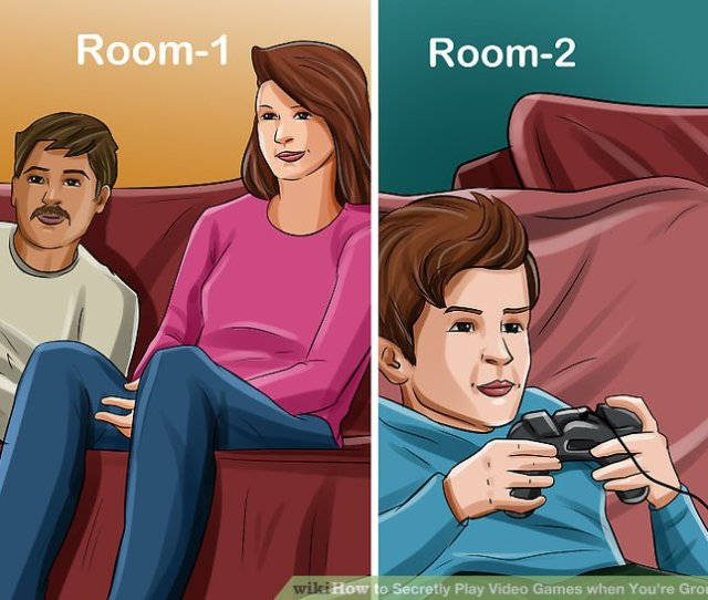 Image Titled Secretly Play Video Games When Youre Grounded Step