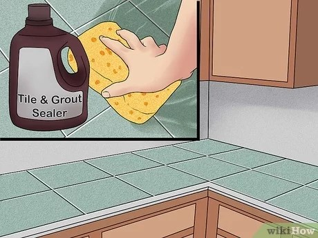 3 ways to tile a countertop wikihow