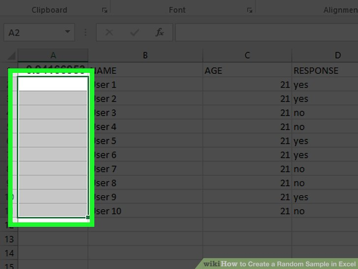 The Best Way To Create A Random Sample In Excel Wikihow