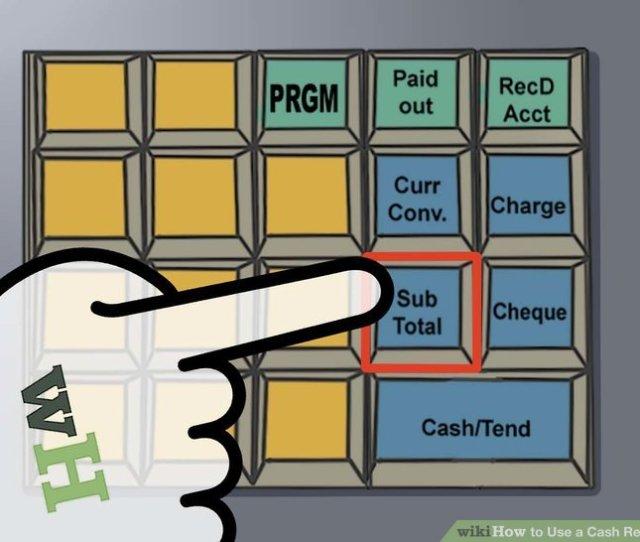Image Titled Use A Cash Register Step 12