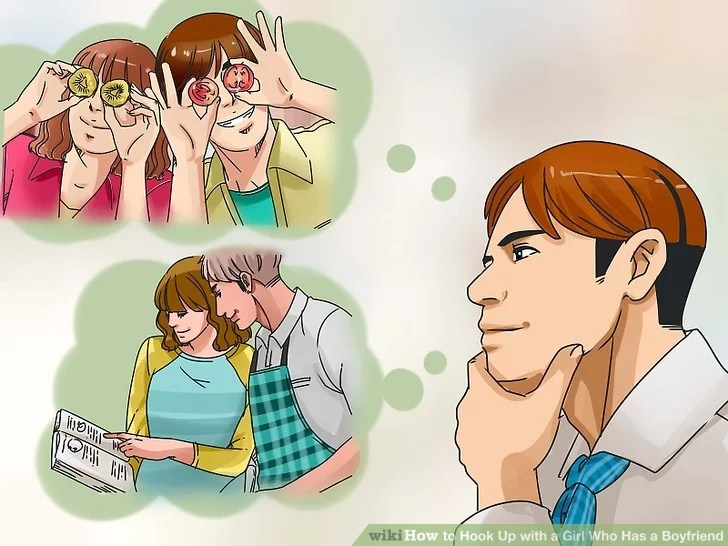 Image titled Hook Up with a Girl Who Has a Boyfriend Step 1