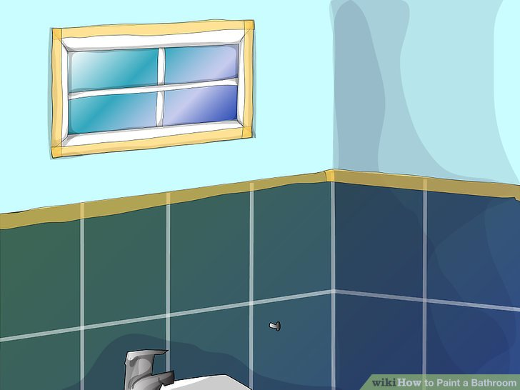 how to paint a bathroom: 9 steps (with pictures) - wikihow