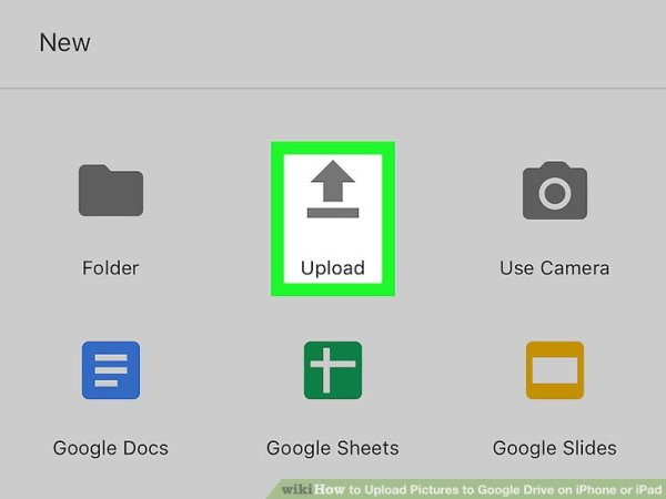 How to Upload Pictures to Google Drive on iPhone or iPad ...