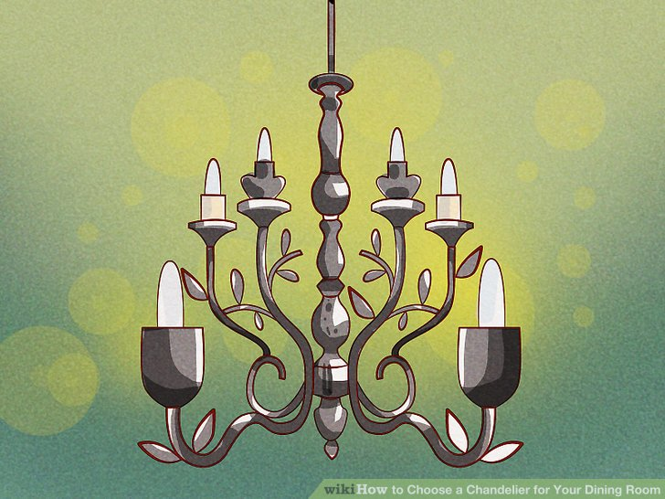 How to Choose a Chandelier for Your Dining Room  11 Steps Image titled Choose a Chandelier for Your Dining Room Step 5