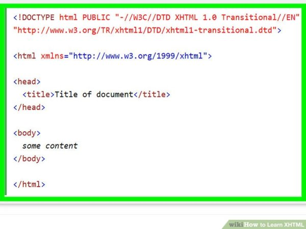 How to Learn XHTML: 9 Steps (with Pictures) - wikiHow