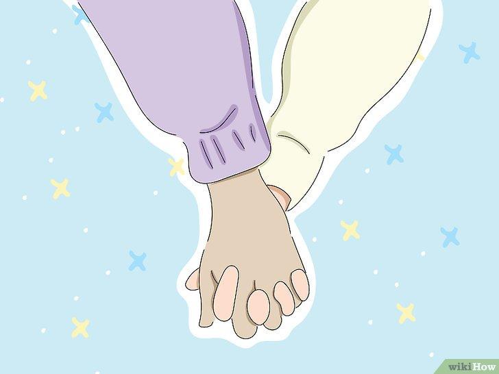 كيفية مسك يد فتاة Wikihow