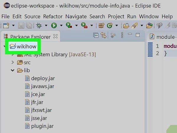 JARs in Projekt Build Pfade in Eclipse (Java) einfügen ...