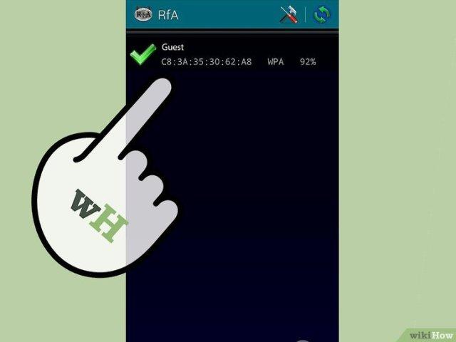 صورة عنوانها Hack Wi Fi Using Android Step 12