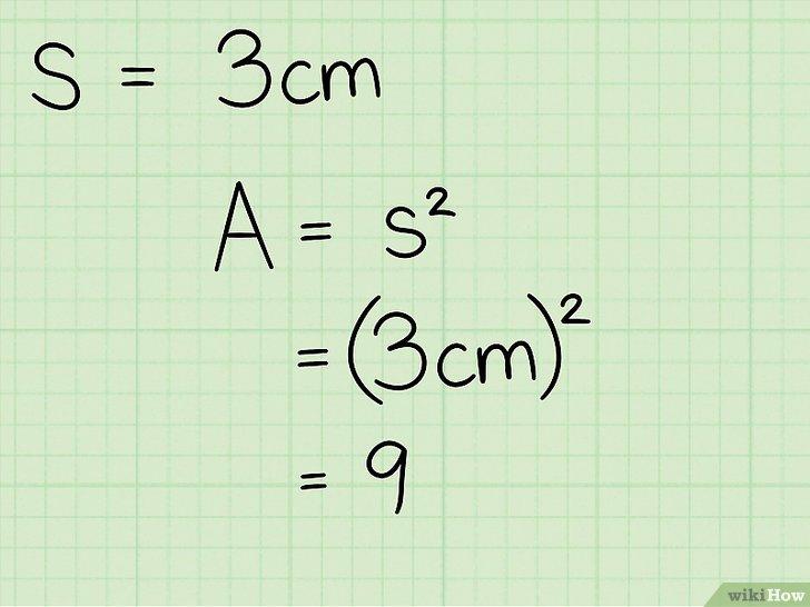 3 Modi Per Calcolare Larea Di Un Quadrato Wikihow
