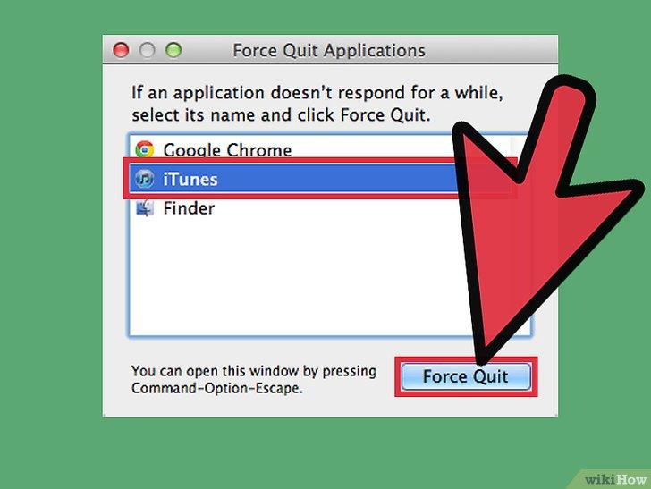 صورة عنوانها Force Quit an Application in Mac OS X Step 3