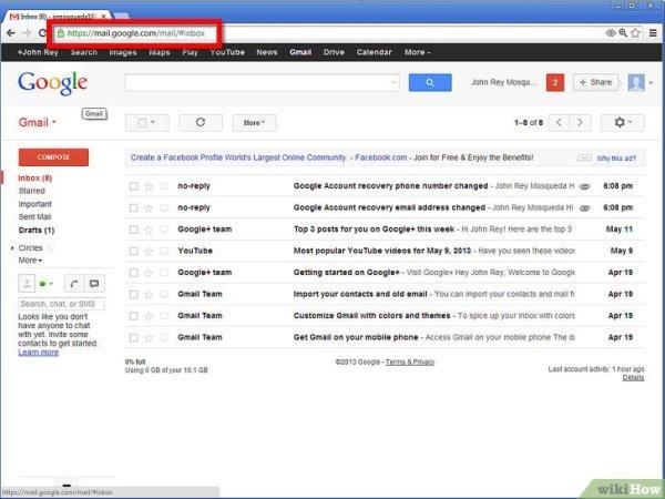 Как создать HTML подпись для Gmail: 10 шагов