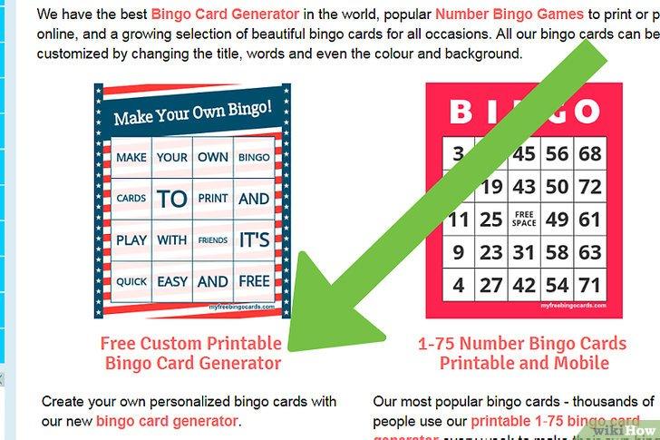 3 Formas De Hacer Tarjetas Para Jugar Bingo WikiHow