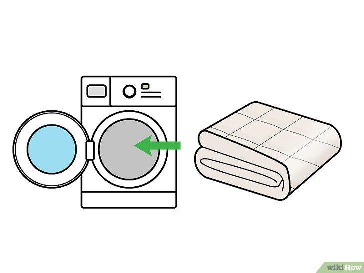 Gambar berjudul Clean Comforters Step 5