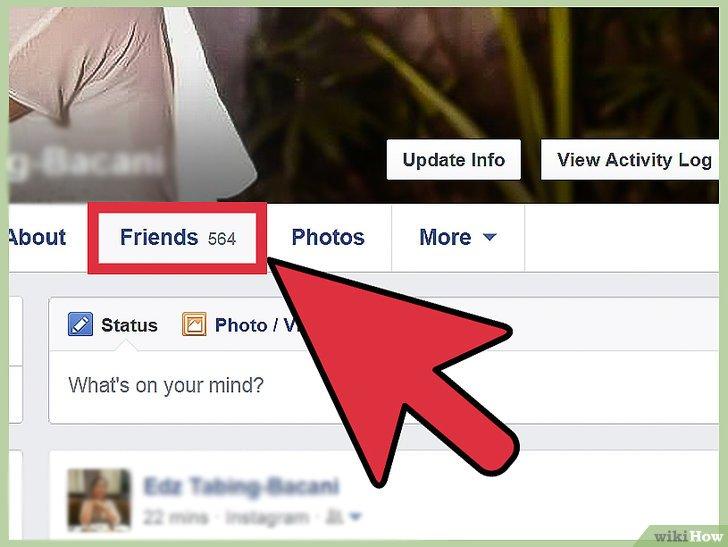 كيفية إخفاء قائمة الأصدقاء في فيسبوك