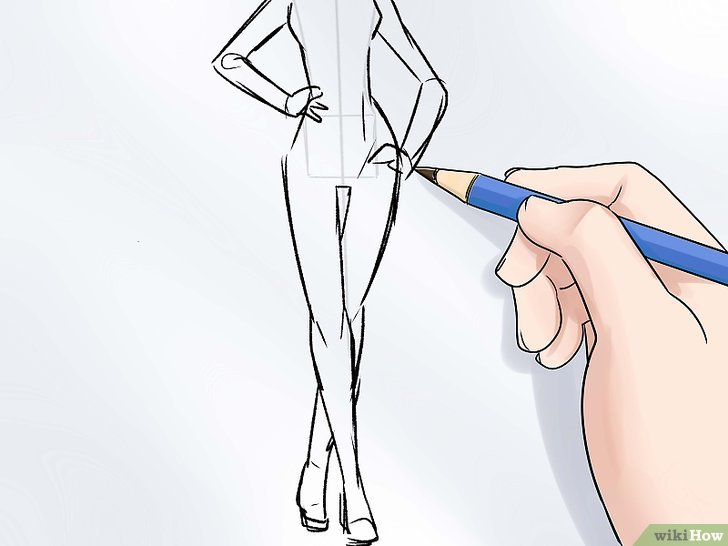 дизайн одежды рисунки карандашом 6