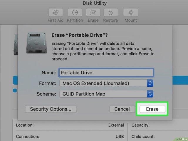 Einen schreibgeschützten USB Stick formatieren – wikiHow