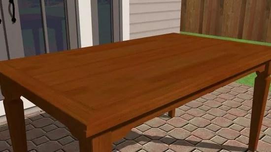 Comment Restaurer Une Table En Bois 9 Etapes