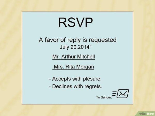 Comment répondre à une invitation: 8 étapes