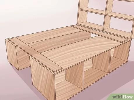3 Manieres De Construire Un Cadre De Lit En Bois