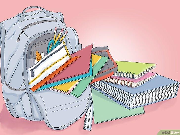 صورة عنوانها Prepare For The First Day of School Step 4