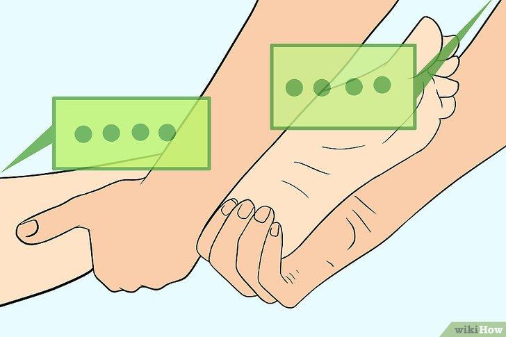 Comment Faire Un Massage Du Pied 15 Tapes