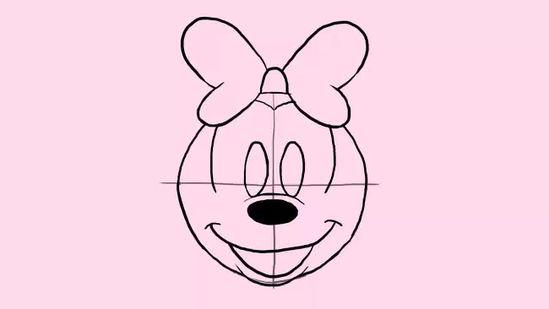 minnie mouse zeichnen # 26