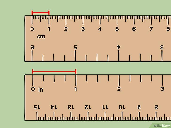 センチメートル(cm)をインチ(inch)に換算する方法