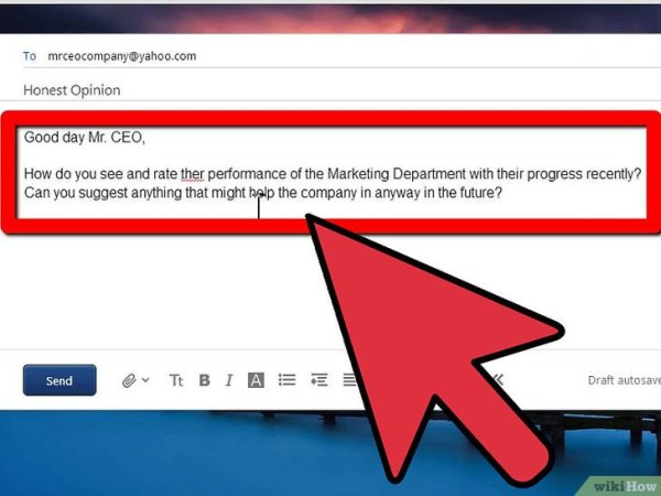 Как написать электронное письмо с просьбой об обратной связи