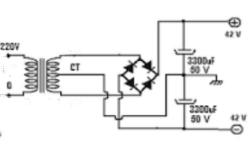 Cara Membuat Rangkaian Power Supply CT Simetris