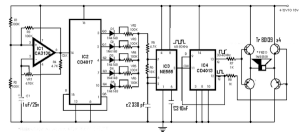 Rangkaian Alat Pengusir Tikus Dan Kecoa Elektronik