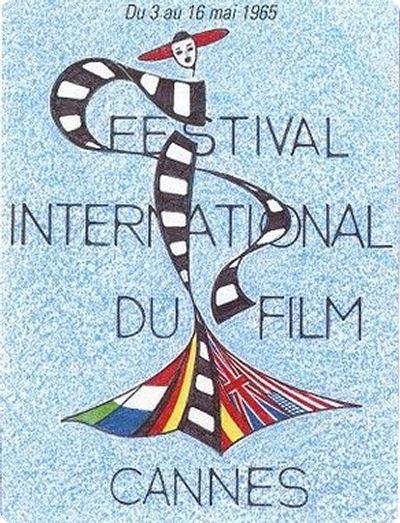 affiche festival de cannes 1965 Toutes les affiches du festival de Cannes de 1946 à 2013