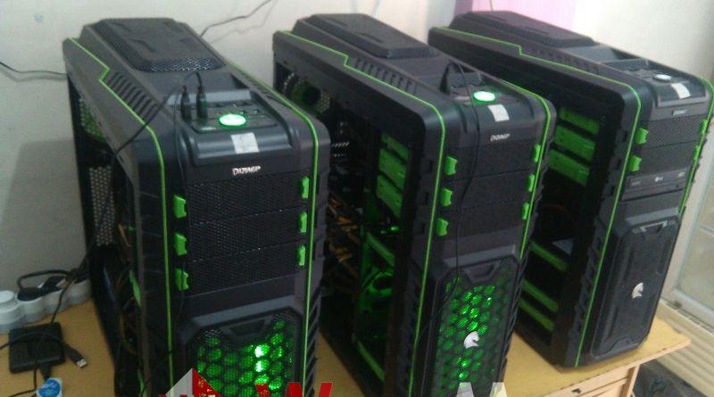 Merakit PC Untuk Mining