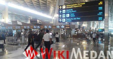 lonjakan penumpang di bandara soekarno hatta