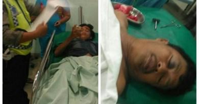Kecelakaan Sepeda Motor Di Siantar, Dengan 3 Orang Luka Luka