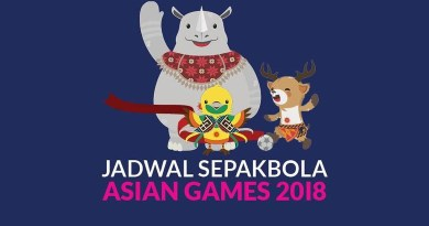 Jadwal Asian Games Sepak Bola 2018