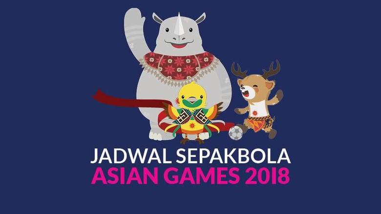 Jadwal Asian Games Sepak Bola