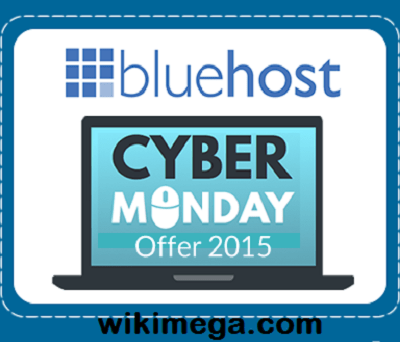 cyber monday best offer 2015 of bluehost, bluehost great offer on cyber monday 2015