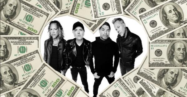 Metallica dinheiro