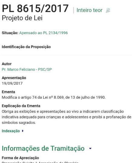 Marco Feliciano apresenta projeto de lei que pode censurar shows, filmes e jogos no Brasil