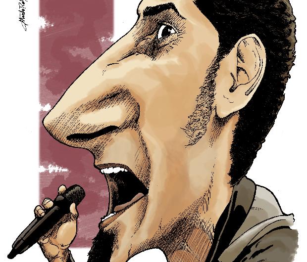 Serj Tankian Caricatura