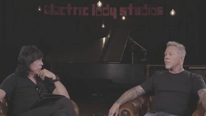 Marky Ramone entrevista James Hetfield