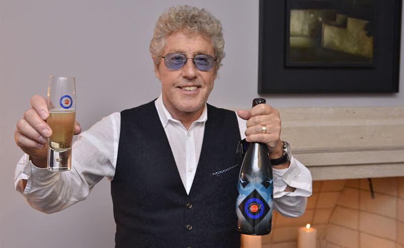 Roger Daltrey lança edição limitada de champagne em São Paulo