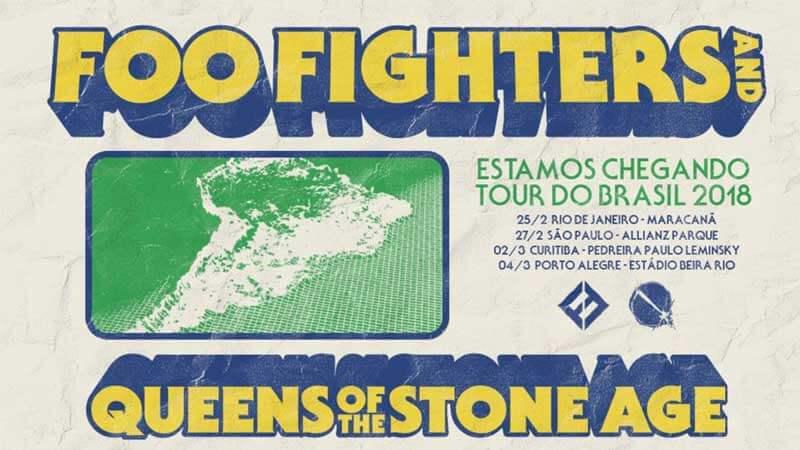 Foo Fighters e Queens Of The Stone Age: informações sobre a venda de ingressos